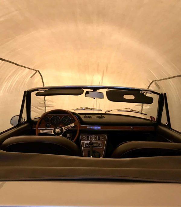 Outdoor Car Shield inside. Outdoor car cover - Outdoor car shield